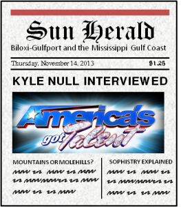 Sun Herald Newspaper Interview post image